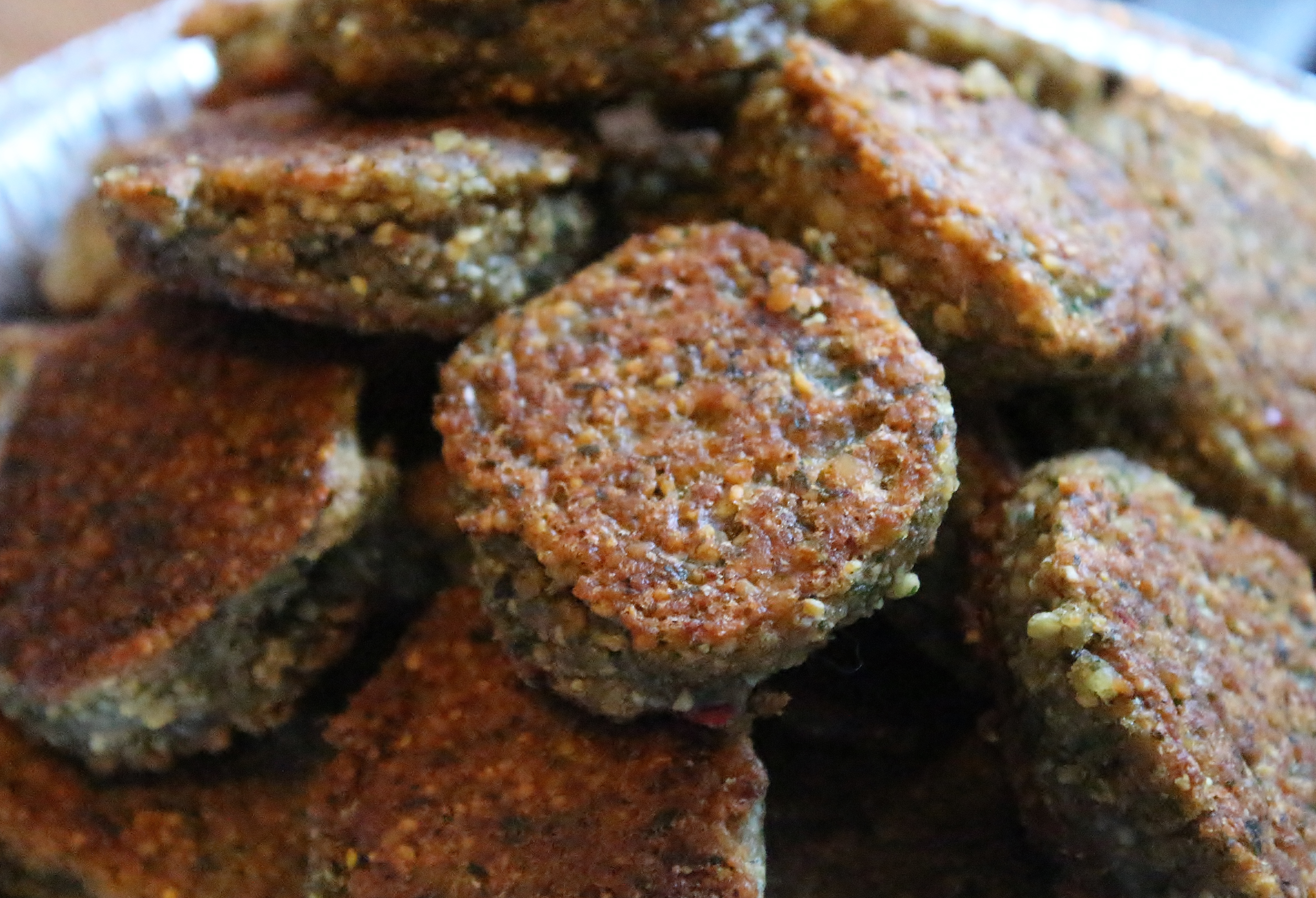 falafel close up
