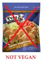 yves veggie nuggets not vegan 2