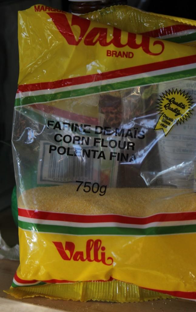 Farine de maïs ou polenta fine